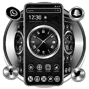 Black Metal Luxury Watch Theme